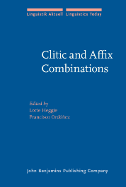 image of Clitic and Affix Combinations