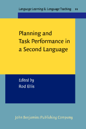 image of Planning and Task Performance in a Second Language