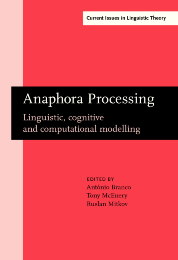image of Anaphora Processing