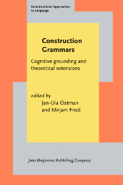 image of Construction Grammars