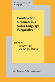 image of Construction Grammar in a Cross-Language Perspective
