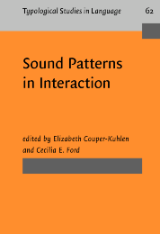 image of Sound Patterns in Interaction