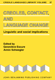 image of Creoles, Contact, and Language Change