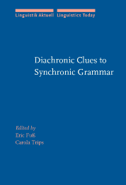 image of Diachronic Clues to Synchronic Grammar