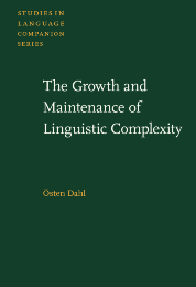 image of The Growth and Maintenance of Linguistic Complexity