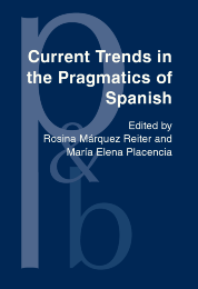 image of Current Trends in the Pragmatics of Spanish