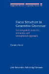image of Focus Structure in Generative Grammar