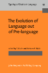 image of The Evolution of Language out of Pre-language