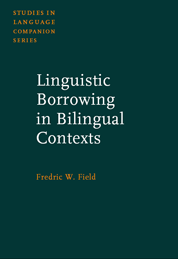 image of Linguistic Borrowing in Bilingual Contexts