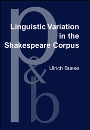 image of Linguistic Variation in the Shakespeare Corpus
