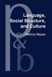 image of Language, Social Structure, and Culture