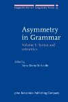 image of Asymmetry in Grammar