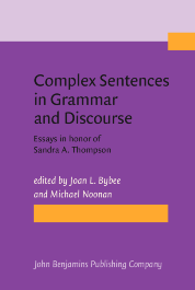 image of Complex Sentences in Grammar and Discourse