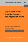 image of Prepositions in their Syntactic, Semantic and Pragmatic Context