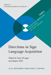 image of Directions in Sign Language Acquisition
