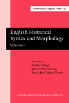 image of English Historical Syntax and Morphology