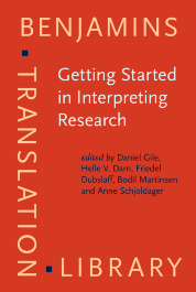 image of Getting Started in Interpreting Research