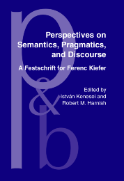 image of Perspectives on Semantics, Pragmatics, and Discourse