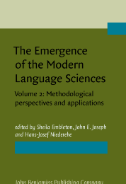 image of The Emergence of the Modern Language Sciences