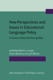 image of New Perspectives and Issues in Educational Language Policy