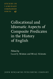 image of Collocational and Idiomatic Aspects of Composite Predicates in the History of English