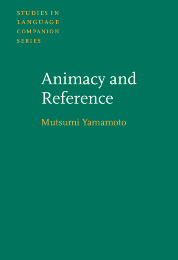 image of Animacy and Reference
