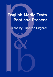 image of English Media Texts – Past and Present