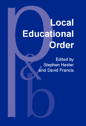 image of Local Educational Order