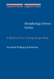 image of Morphology-Driven Syntax