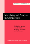 image of Morphological Analysis in Comparison