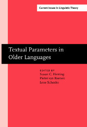 image of Textual Parameters in Older Languages