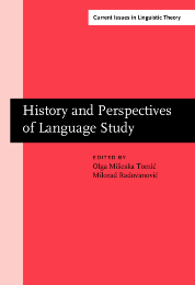 image of History and Perspectives of Language Study