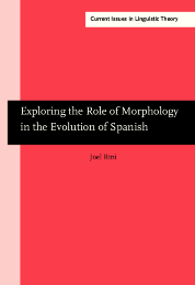 image of Exploring the Role of Morphology in the Evolution of Spanish